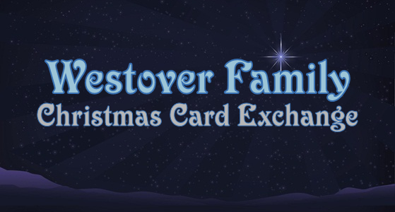 Join the Westover Family Christmas Card Exchange