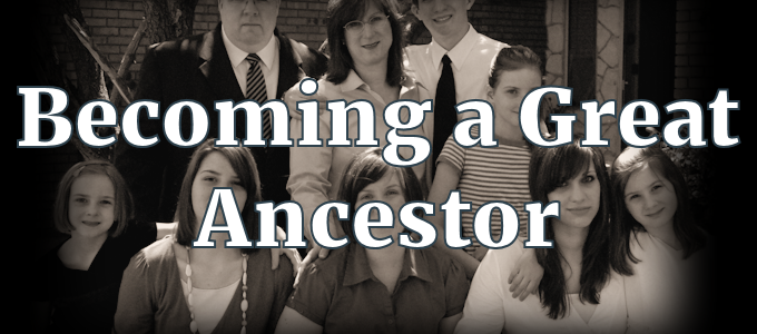 Becoming a Great Ancestor