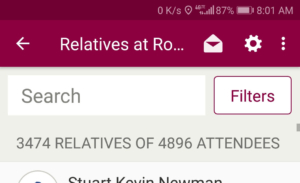 Relatives at Rootstech