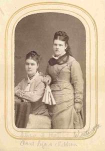 Harriet and Eliza Ann Westover
